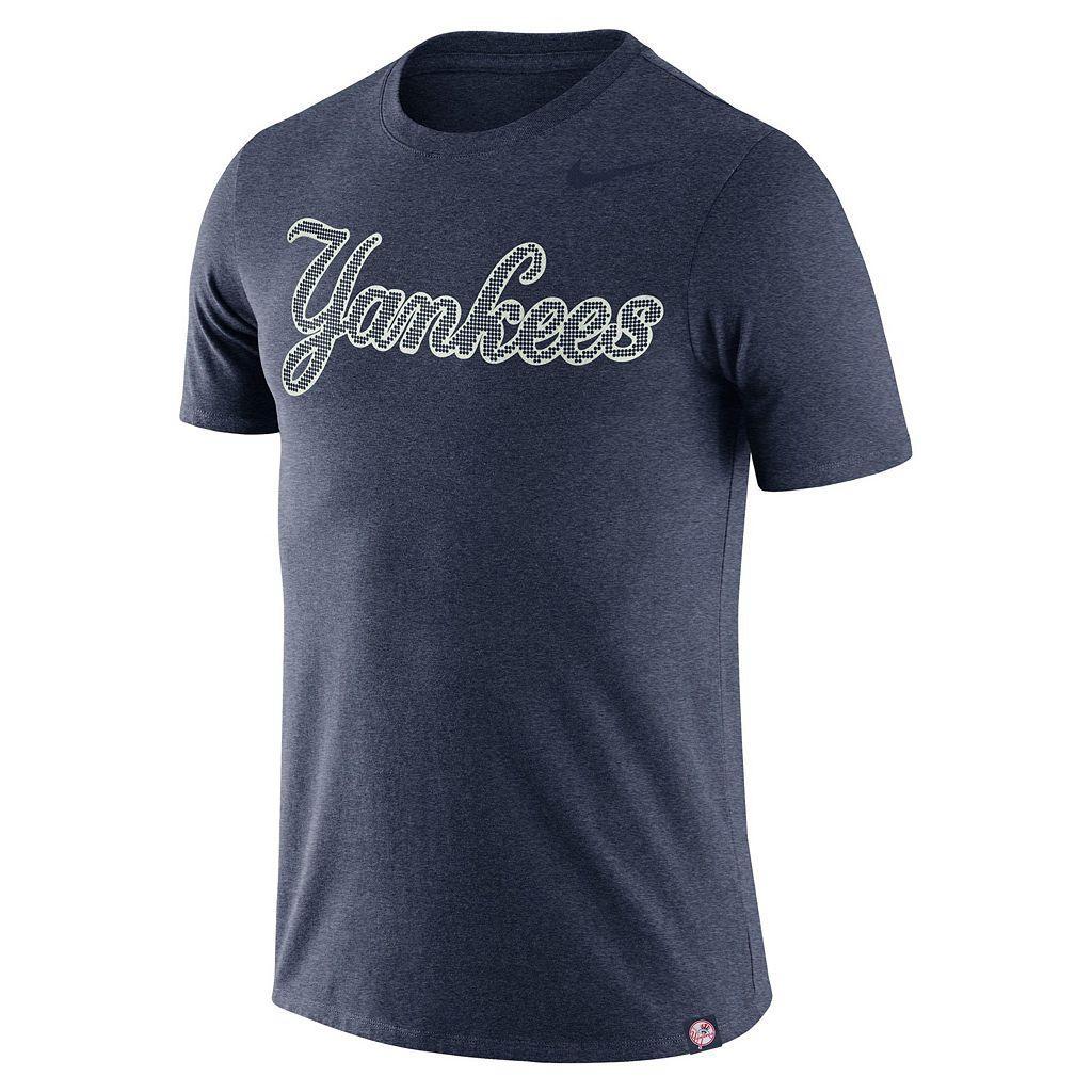 Men's Nike New York Yankees Dri-FIT Burnout Tee