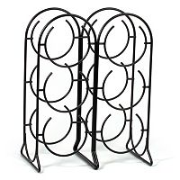 Spectrum Horseshoe 6-Bottle Wine Rack