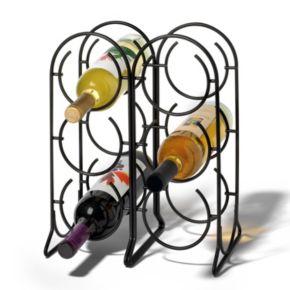 Spectrum Horseshoe 6-Bottle Wine Rack