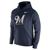 Men's Nike Milwaukee Brewers Club Fleece Hoodie