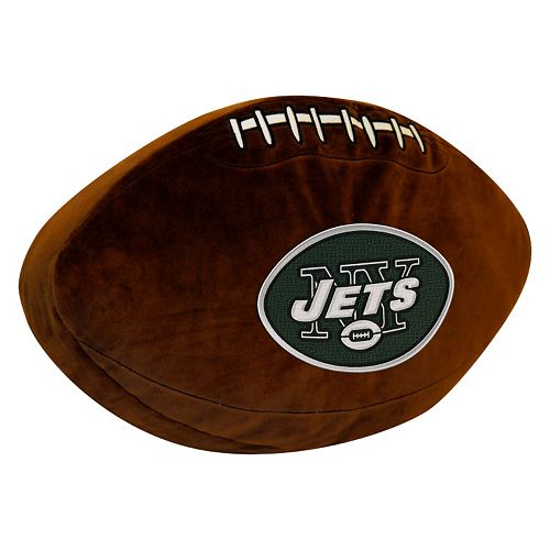 New York Jets Football Pillow