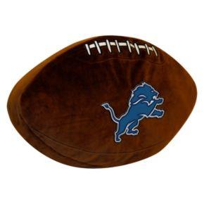 Detroit Lions Football Pillow