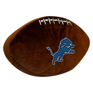 Detroit Lions Football Pillow