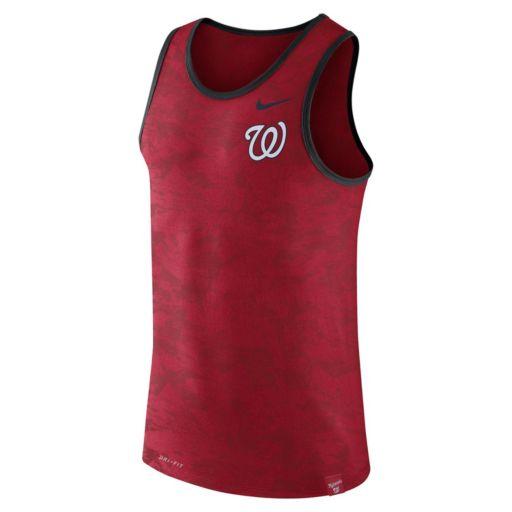 Men's Nike Washington Nationals Premium Dri-FIT Tank