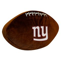 New York Giants Football Pillow