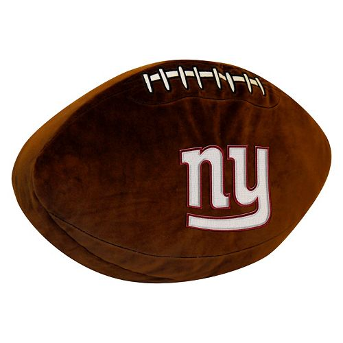 New York Giants Football Pillow