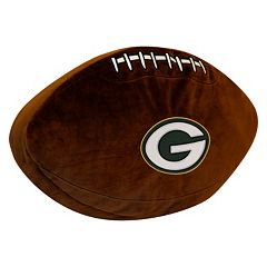Green Bay Packers Football Pillow