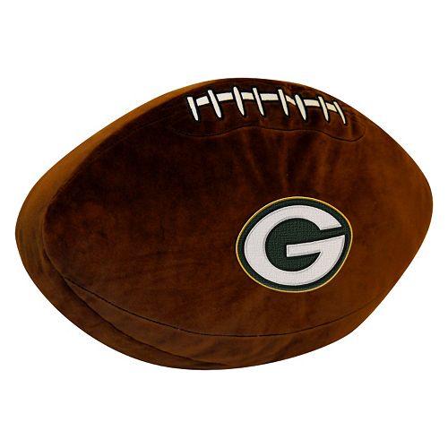 Green Bay Packers Football Pillow