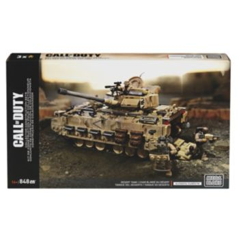 Call of Duty Camouflage Desert Tank by Mega Bloks