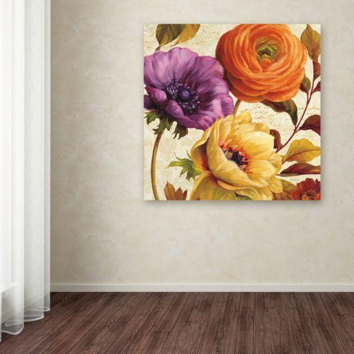 Trademark Fine Art End of Summer II Canvas Wall Art