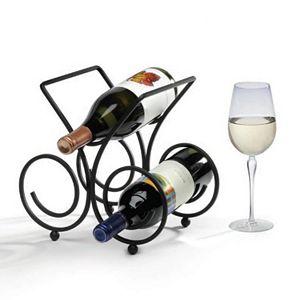 Spectrum Bordeaux 3-Bottle Wine Rack