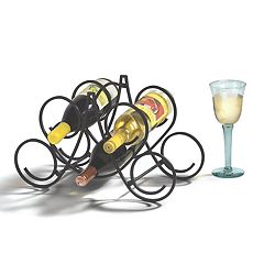 Spectrum Bordeaux 5-Bottle Wine Rack