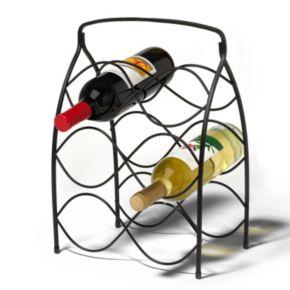 Spectrum Neko 6-Bottle Wine Rack