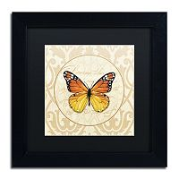 Trademark Fine Art End of Summer IV Black Framed Wall Art