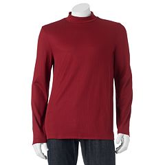 Men's Croft & Barrow® Classic-Fit Solid Mockneck Tee