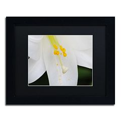 Trademark Fine Art Adore You Black Framed Wall Art