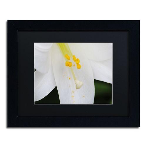 Trademark Fine Art Adore You Black Framed Wall Art