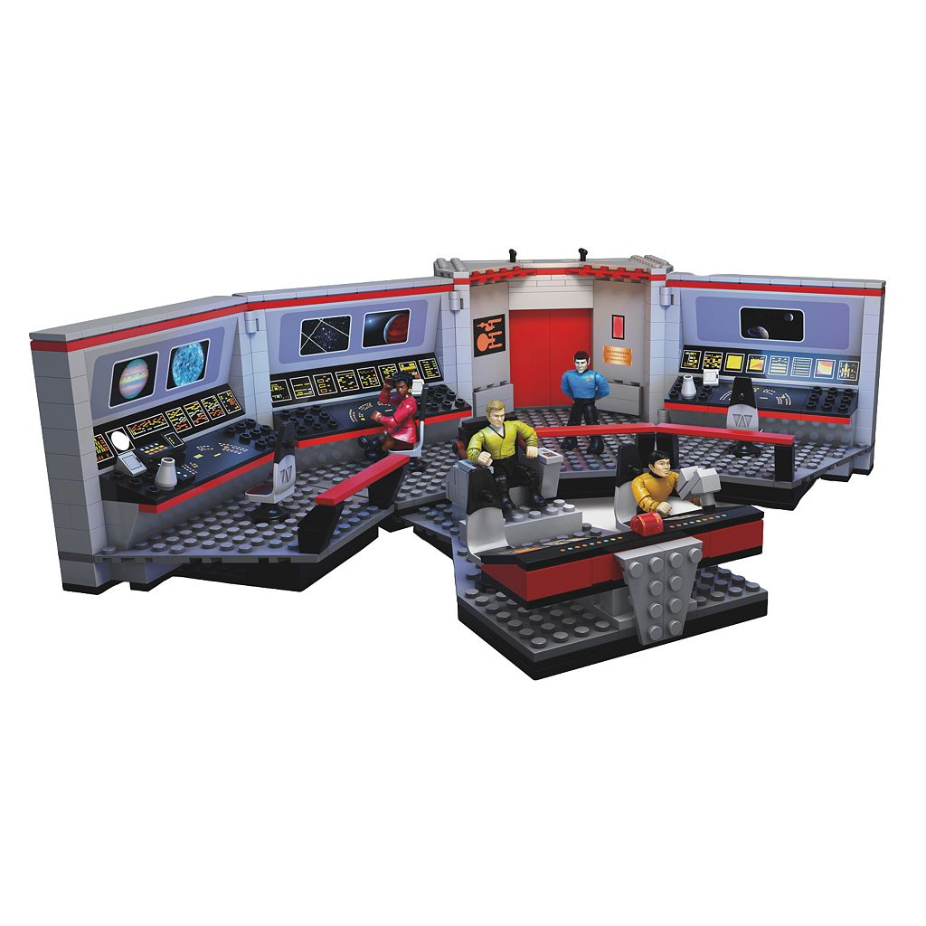 Star Trek U.S.S. Enterprise Bridge Collector Construction Set by Mega Bloks