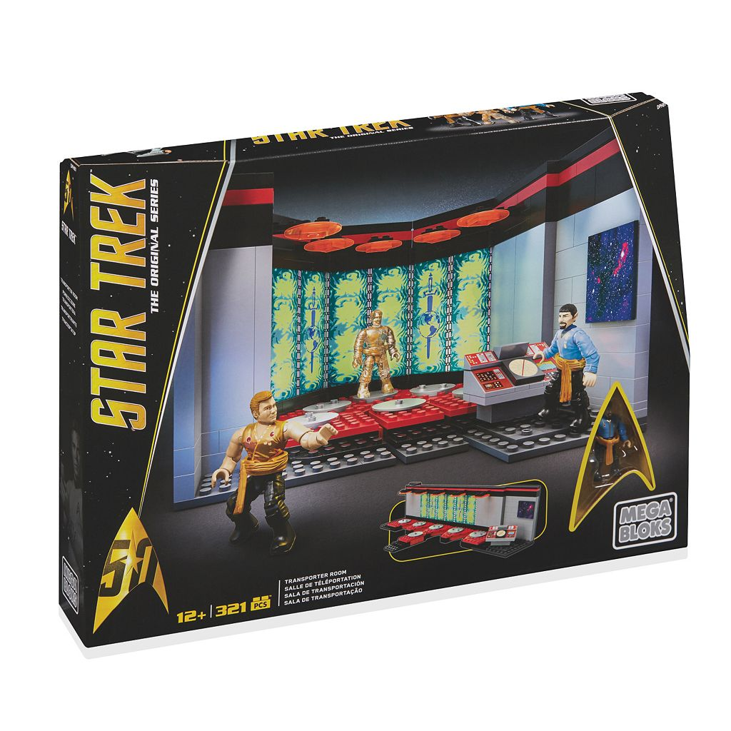 Star Trek U.S.S. Enterprise Transporter Room Collector Construction Set by Mega Bloks