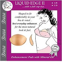 Braza Liquid Edge 2 Bra Enhancer Pads 7550