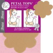 Braza Reusable Concealing Petal Tops 1162