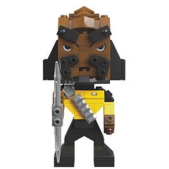Star Trek: The Next Generation Klingon Worf Kubros Set by Mega Bloks