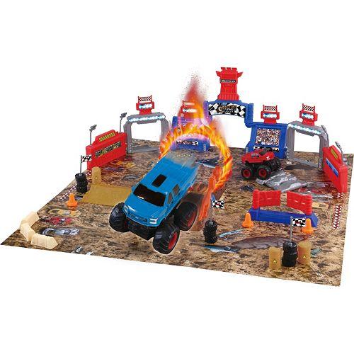 Ford Monster Truck Mayhem Playset 54-pc. Set by World Tech Toys