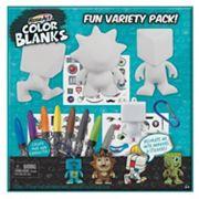 Rose Art Mega Bloks Color Blanks Variety Pack