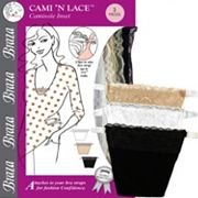 Braza Cami 'N Lace 3 pkCamisole Inset Cover Ups 5003