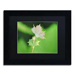Trademark Fine Art Beginning Black Framed Wall Art