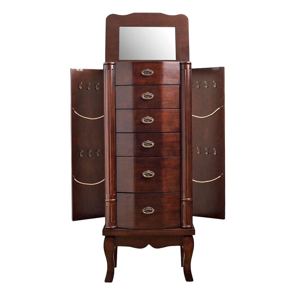 Hives & Honey Abigail Wooden Jewelry Armoire