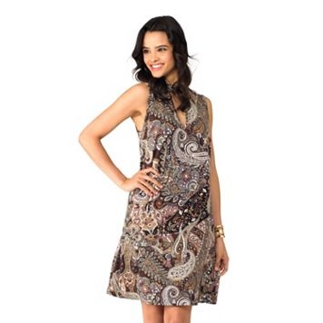 Women's Indication by ECI Paisley Halter Dress
