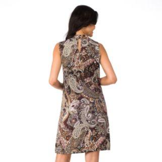 Women's Indication by ECI Paisley Halter Dress
