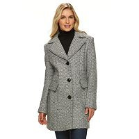 Women's Gallery Tweed Wool Blend Coat