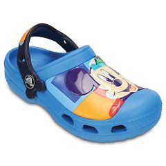 Creative Crocs Disney's Mickey Mouse Kids' Colorblock Clogs by