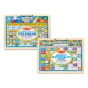 Melissa & Doug Magnetic Calendar & Responsibility Chart Bundle