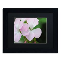 Trademark Fine Art Devine Feel Black Framed Wall Art