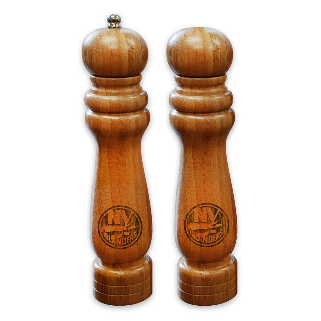New York Islanders Salt Shaker & Pepper Mill Set