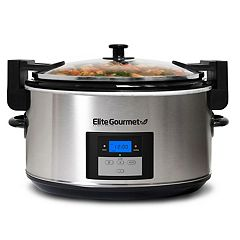 Elite Platinum 8.5-qt. Programmable Slow Cooker