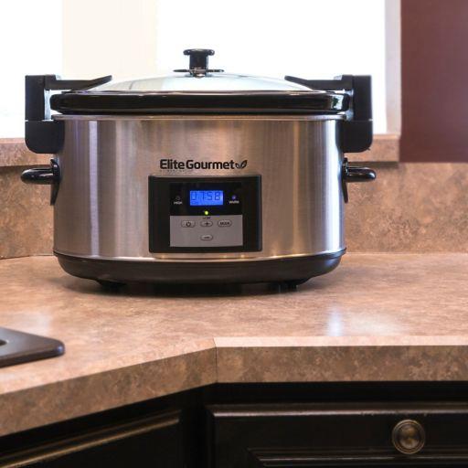 Elite Platinum 8.5-qt. Programmable Slow Cooker