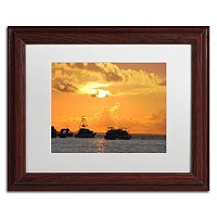 Trademark Fine Art Dreamily Wood Finish Framed Wall Art