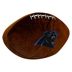 Carolina Panthers Football Pillow