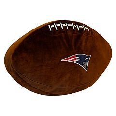 New England Patriots Football Pillow
