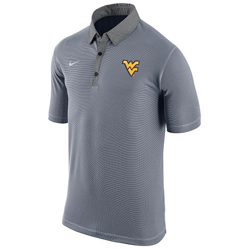 Men's Nike West Virginia Mountaineers Microstripe Dri-FIT Polo