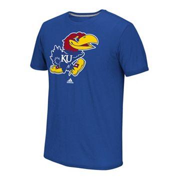 Men's adidas Kansas Jayhawks School Logo Tee
