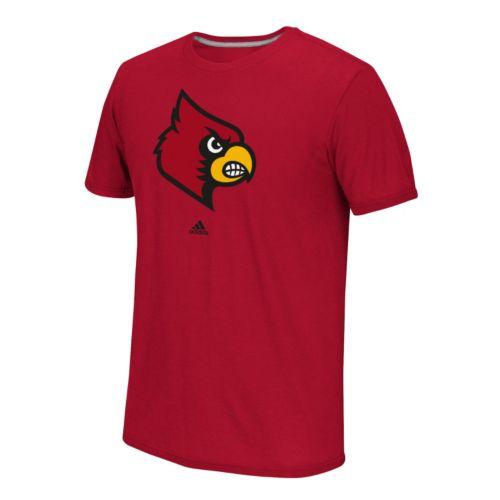 Men's adidas Louisville Cardinals School Logo Tee