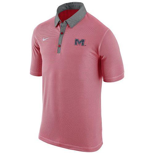 6883fbff Men's Nike Ole Miss Rebels Microstripe Dri-FIT Polo