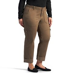 Plus Size Lee Brinley Modern-Fit Cargo Pants