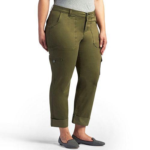 Plus Size Lee Brinley Modern-Fit Cargo Pants