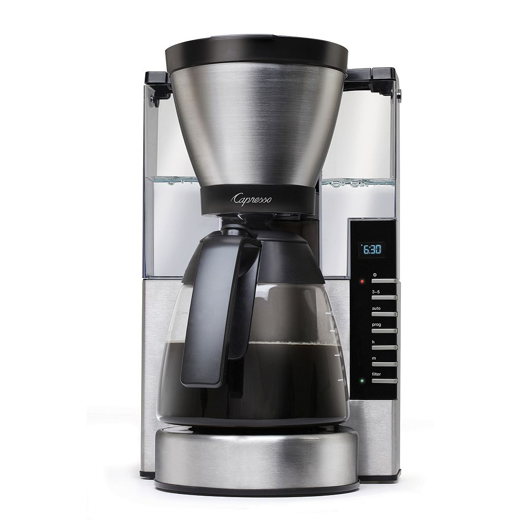 Capresso MG900 10-Cup Rapid Brew Programmable Coffee Maker
